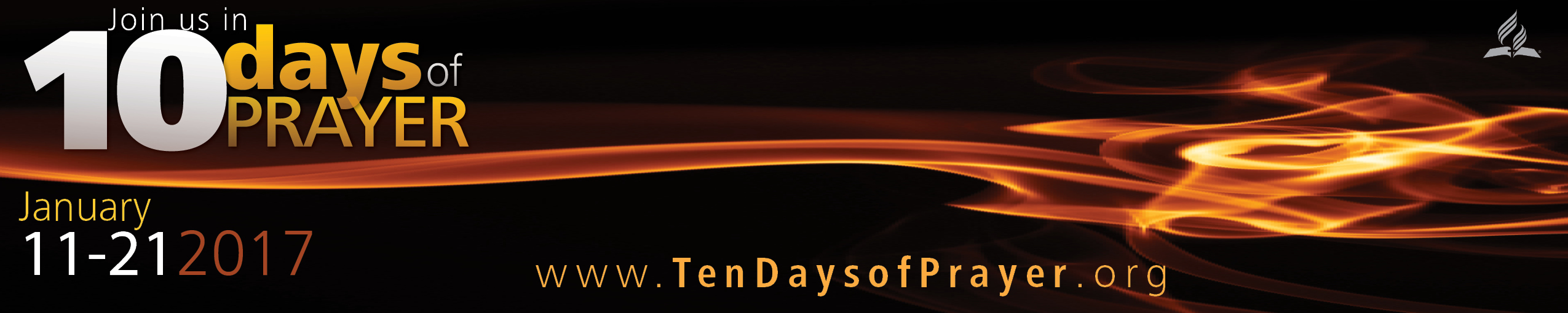 Ten Days of Prayer Banner