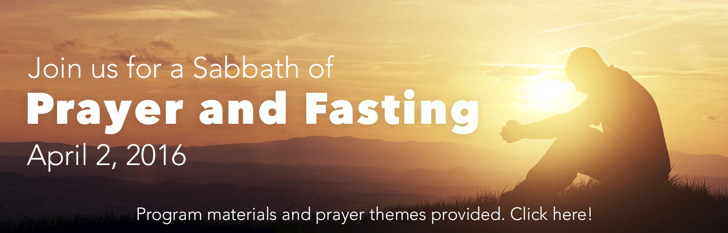 Sabbath of Prayer and Fasting