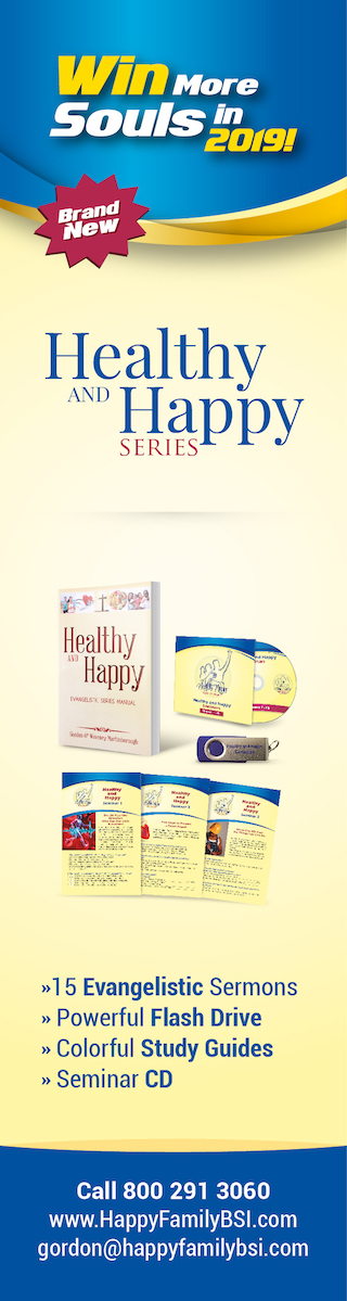 Advertisement - Healthy and Happy Family - Skyscraper 160x600